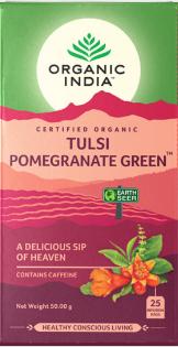 Ecce Vita Tulsi s zeleným čajem a granátovým jablkem BIO 25 sáčky