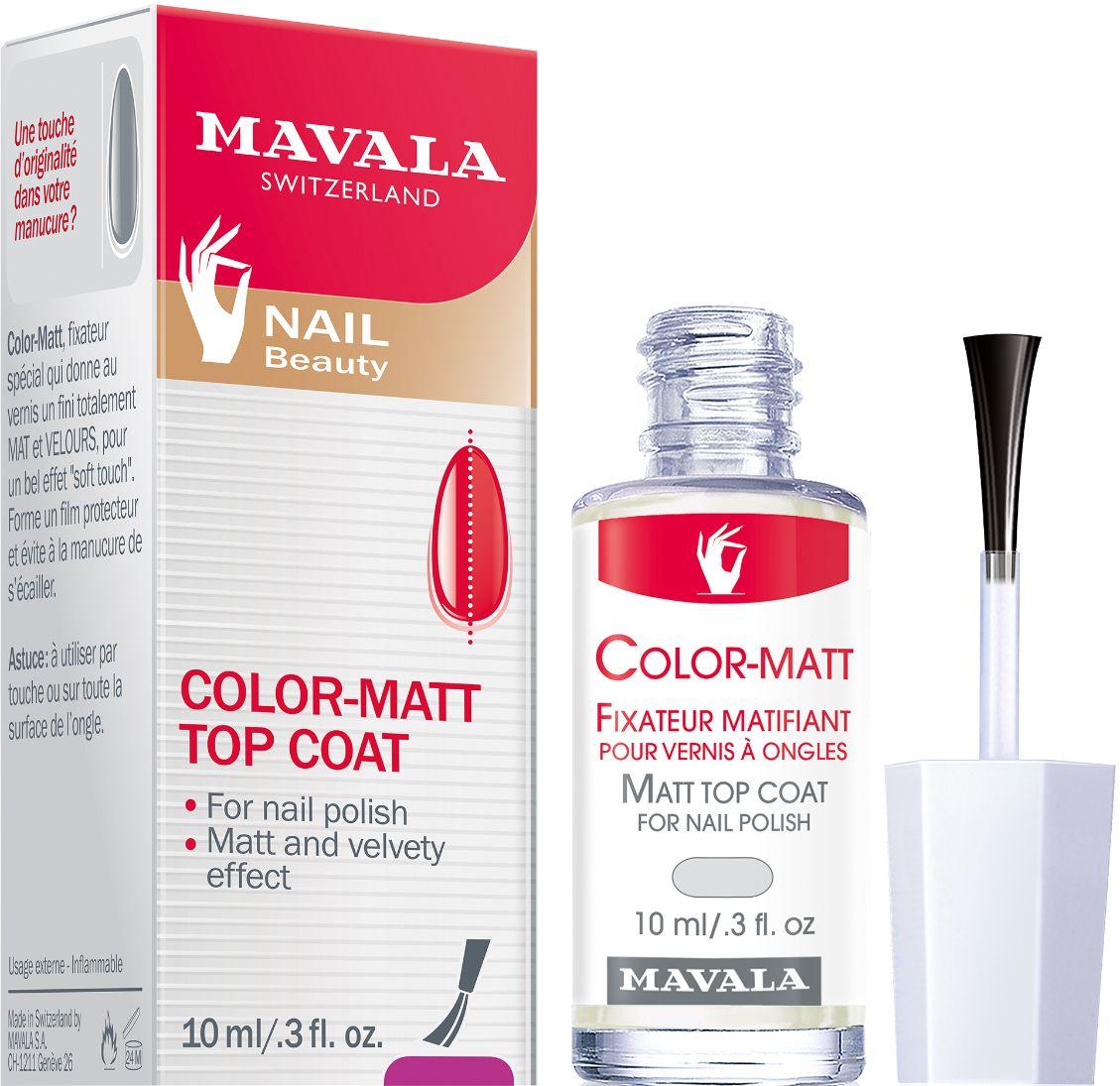 Mavala Color Matt Top-Coat Matující lak 10ml