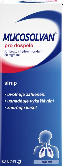 Mucosolvan® pro dospělé 30mg/5ml sirup 100ml