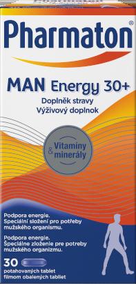 Pharmaton Man ENERGY 30+, 30 tablet