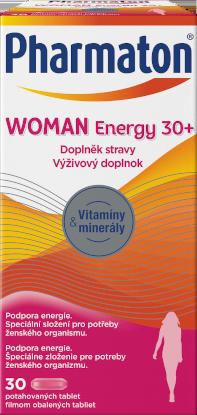 Pharmaton WOMAN Energy 30+, 30 tablet