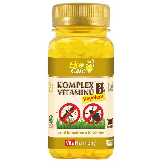 VitaHarmony, s.r.o.  VitaHarmony Komplex vitaminů B Repelent 300ks
