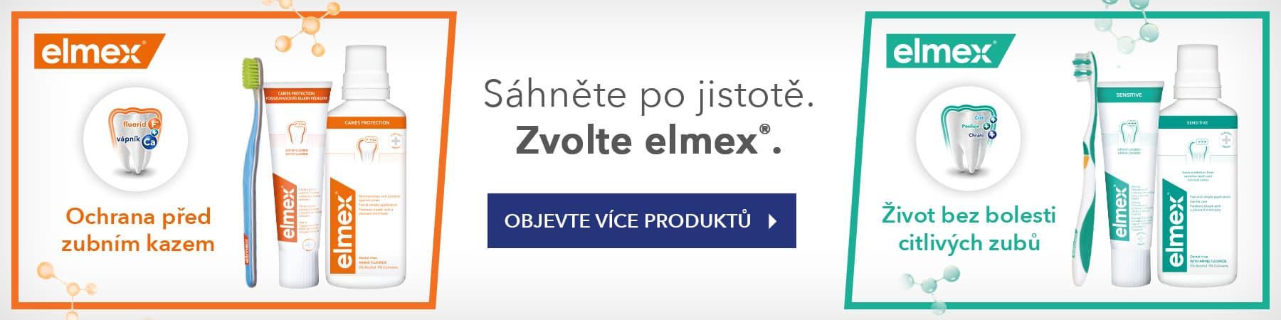 elmex zubní kartáček Ultra Soft měkký 1ks