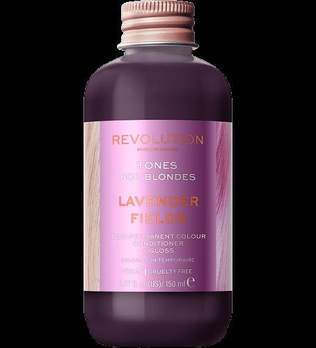 Revolution Haircare Tones for Blondes Barva na vlasy Lavender Fields 150ml