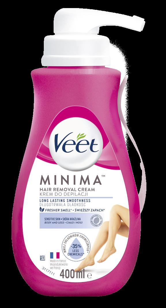VEET Minima Depilační krém pro citlivou pokožku 400ml
