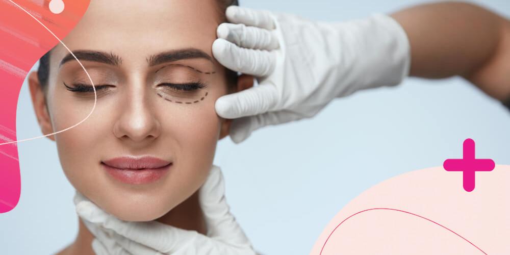 Záloha na redukci nadbytečné kůže očních víček