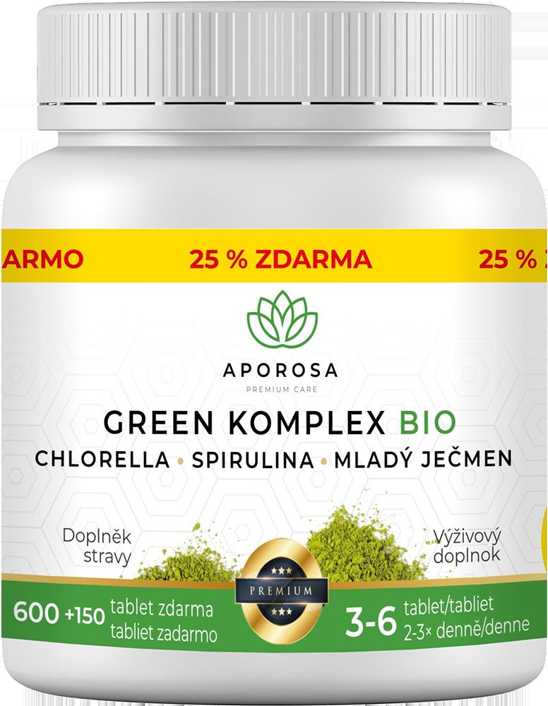 APOROSA premium Green Komplex BIO 750 tablet
