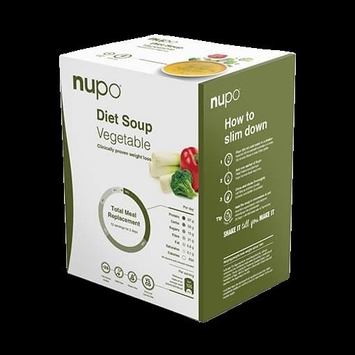 Nupo Diet Soup zeleninová polévka 12x32g