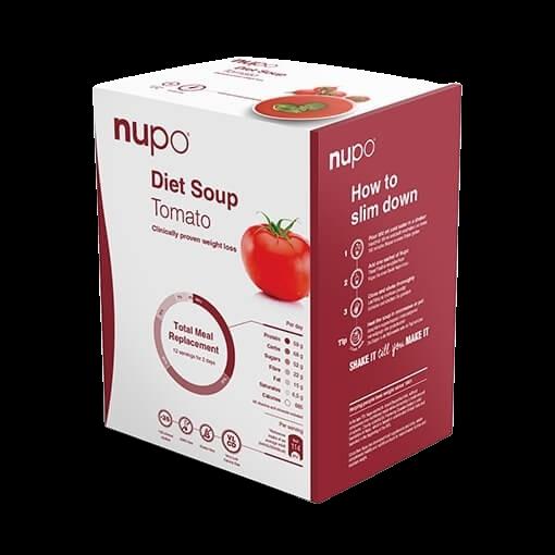 Nupo Diet tomatová polévka 12x32g