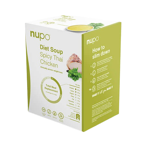 Nupo Diet Soup pikantní thajská polévka 12x32g