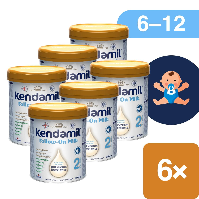 Kendamil pokračovací mléko 2 DHA+ 6x900g