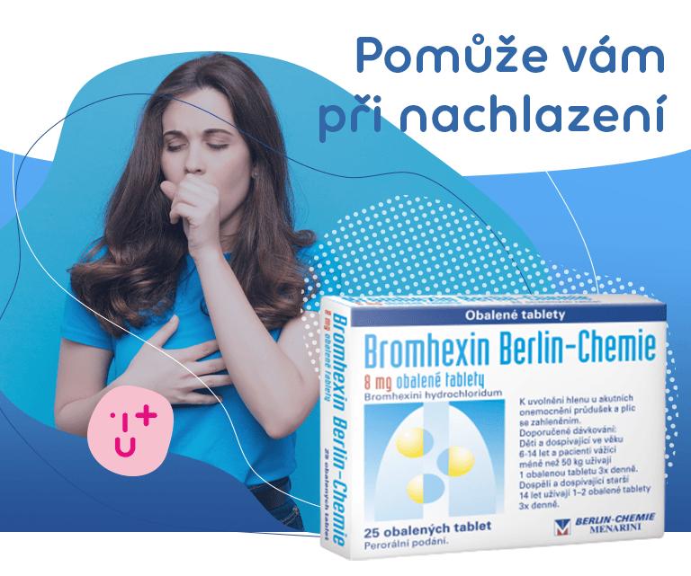 Bromhexin 8 Berlin-Chemie 8mg 25 obalených tablet