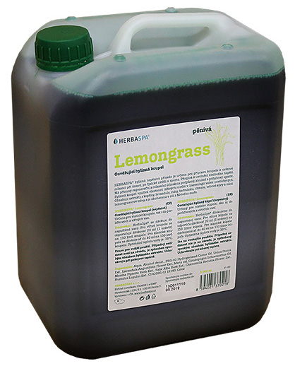 Herbadent Bylinná koupel, pěnivá - Lemongrass 5l