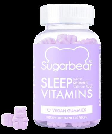 Sugarbear Sleep vitamíny pro lepší spánek 60ks