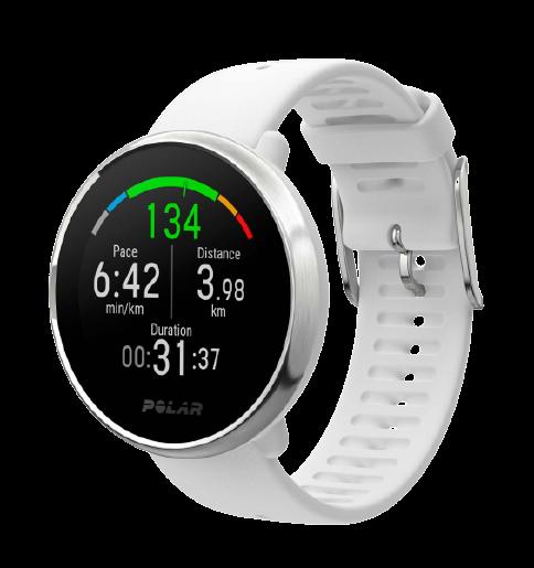 POLAR IGNITE Fitness hodinky bílé, vel. S