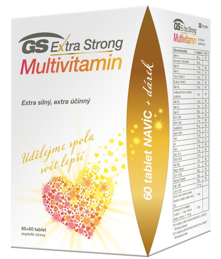 GS Extra Strong Multivitamin 60+60 tablet