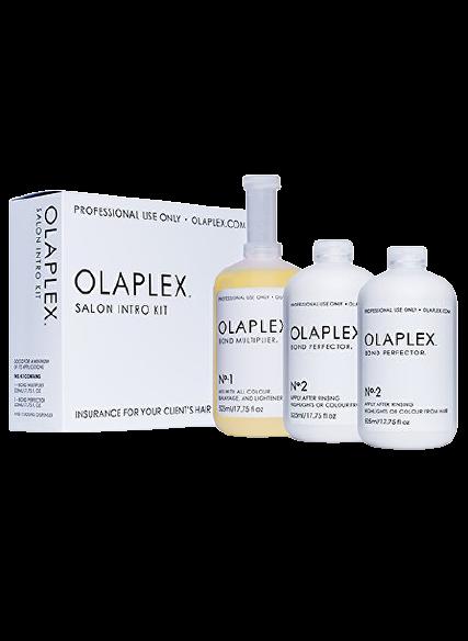 Olaplex Sada pro barvené nebo chemicky ošetřené vlasy (Salon Intro Kit) 3x525ml