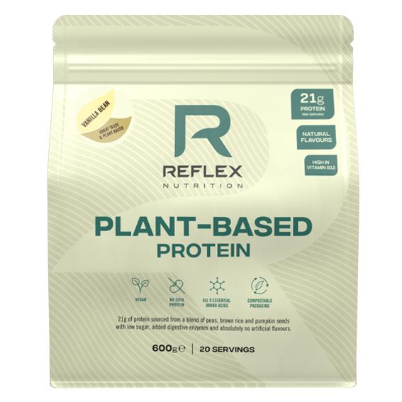 Reflex Nutrition Plant Based Protein 600g vanilla bean