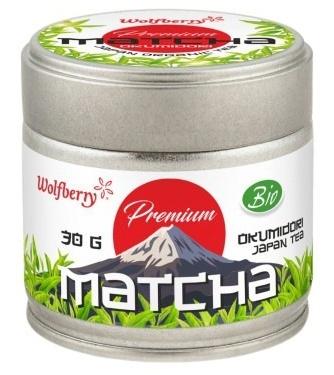 Wolfberry Matcha čaj Okumidori BIO 30g