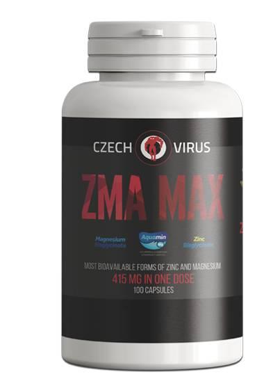 Czech Virus ZMA Max 100 kapslí