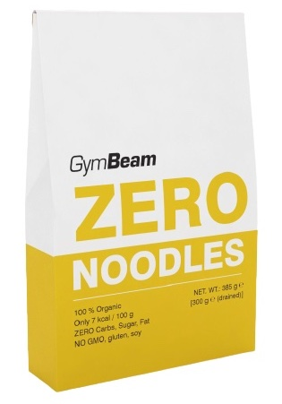 GymBeam BIO Zero Noodles 385g