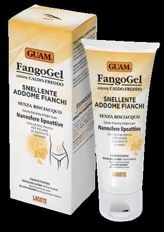 Deadia Cosmetics Hřejivý-chladivý gel Guam na břicho a boky 150ml