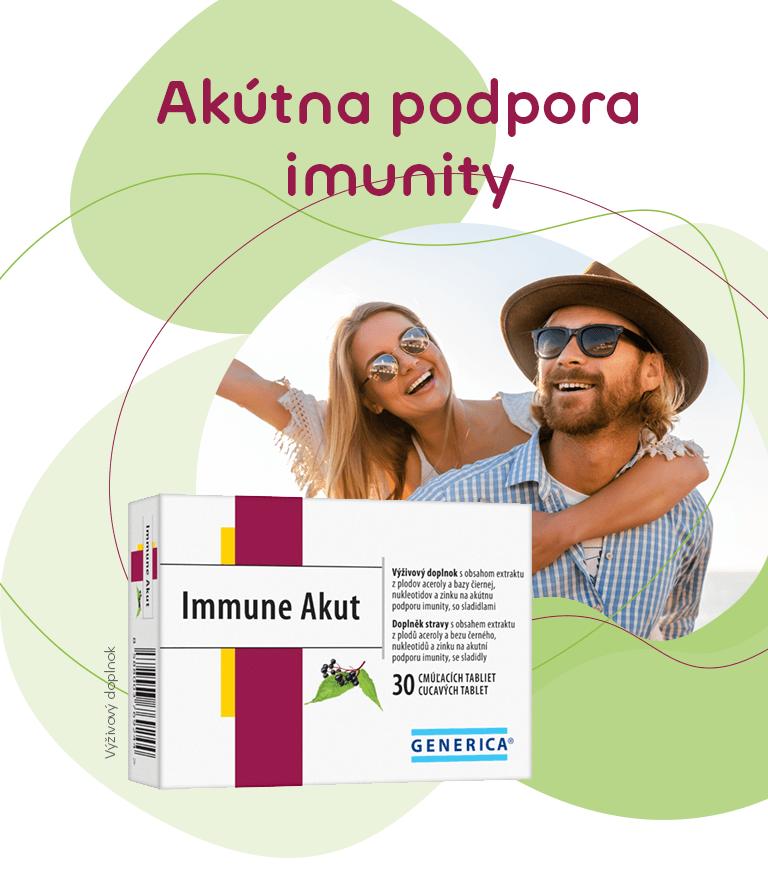 GENERICA Immune Akut cmúľacie tablety 30 tbl