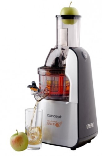Concept Lis na ovocie a zeleninu Home Made Juice SINFONIA LO7065 nerez + čierna