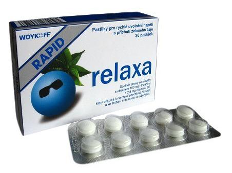 Woykoff Relaxa RAPID na rýchle upokojenie a proti stresu 30 tabliet