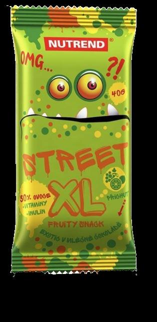 Nutrend Street XL Fruity exotic s čokoládovou polevou 40g