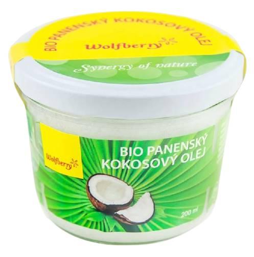 Wolfberry Panenský kokosový olej BIO 200ml