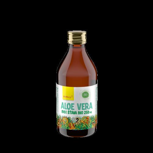 Wolfberry Aloe vera šťáva 100% BIO 250ml