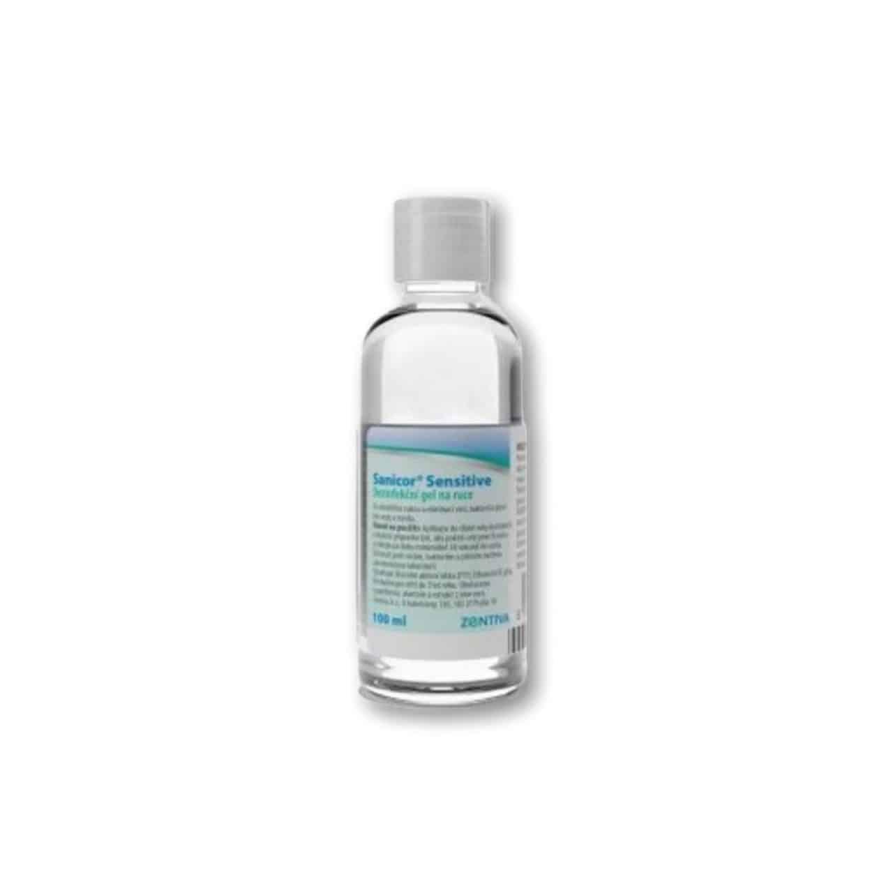 Sanicor Sensitive dezinfekčný gél na ruky 100ml