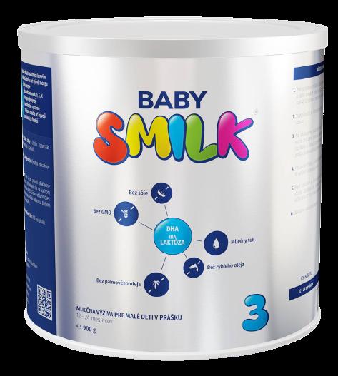 Babysmilk 3 Mliečna výživa pre malé deti v prášku 12-24 mesiacov 900g