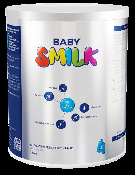 Babysmilk 4 Mliečna výživa pre malé deti v prášku od 24 mesiacov 400g