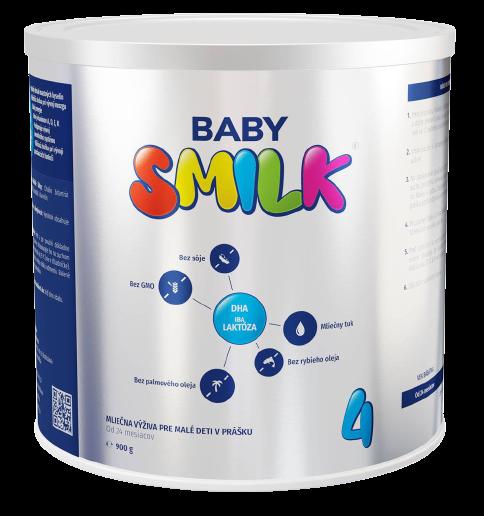Babysmilk 4 Mliečna výživa pre malé deti v prášku od 24 mesiacov 900g