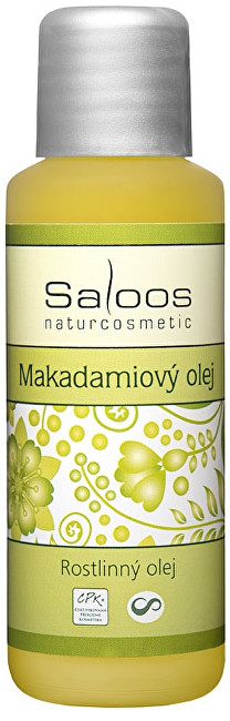 Saloos Makadamiový olej lisovaný za studena 50ml